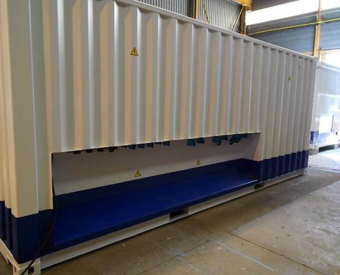 Container électrique standardisé ou sur mesure